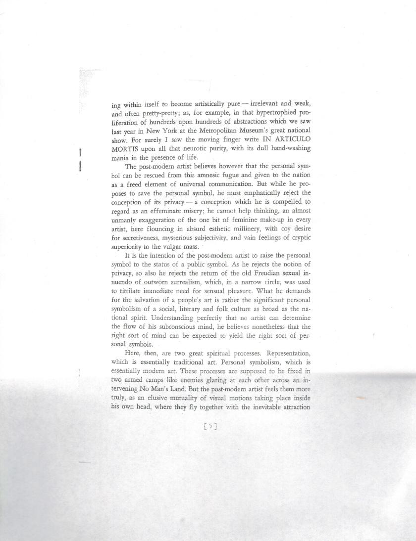 Manifesto P6
